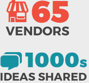 65 Vendors & 1000s Ideas Shared