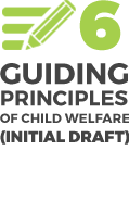 6 Guiding principles of child welfare (Initial draft)